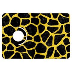 Skin1 Black Marble & Yellow Colored Pencil Kindle Fire Hdx Flip 360 Case