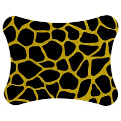 Skin1 Black Marble & Yellow Colored Pencil Jigsaw Puzzle Photo Stand (bow)