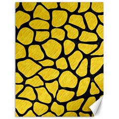 Skin1 Black Marble & Yellow Colored Pencil (r) Canvas 12  X 16
