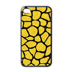 Skin1 Black Marble & Yellow Colored Pencil (r) Apple Iphone 4 Case (black)