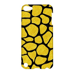 Skin1 Black Marble & Yellow Colored Pencil (r) Apple Ipod Touch 5 Hardshell Case