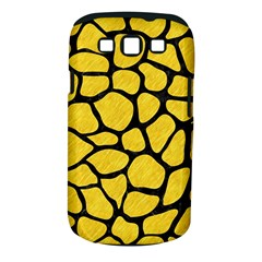 Skin1 Black Marble & Yellow Colored Pencil (r) Samsung Galaxy S Iii Classic Hardshell Case (pc+silicone)