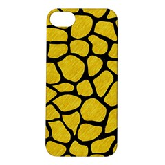 Skin1 Black Marble & Yellow Colored Pencil (r) Apple Iphone 5s/ Se Hardshell Case