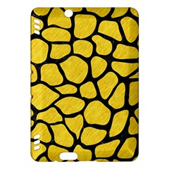 Skin1 Black Marble & Yellow Colored Pencil (r) Kindle Fire Hdx Hardshell Case