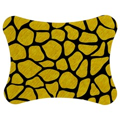 Skin1 Black Marble & Yellow Colored Pencil (r) Jigsaw Puzzle Photo Stand (bow)