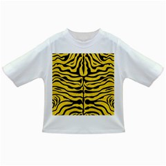 Skin2 Black Marble & Yellow Colored Pencil Infant/toddler T Shirts