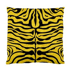 Skin2 Black Marble & Yellow Colored Pencil Standard Cushion Case (one Side)