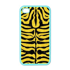 Skin2 Black Marble & Yellow Colored Pencil Apple Iphone 4 Case (color)