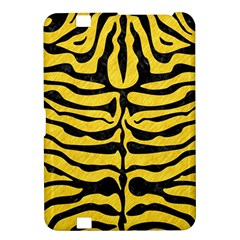 Skin2 Black Marble & Yellow Colored Pencil Kindle Fire Hd 8 9