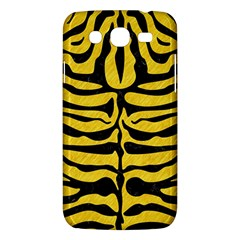Skin2 Black Marble & Yellow Colored Pencil Samsung Galaxy Mega 5 8 I9152 Hardshell Case