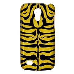 Skin2 Black Marble & Yellow Colored Pencil Galaxy S4 Mini