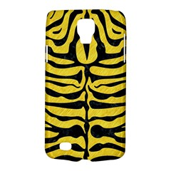 Skin2 Black Marble & Yellow Colored Pencil Galaxy S4 Active