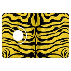 Skin2 Black Marble & Yellow Colored Pencil Kindle Fire Hdx Flip 360 Case