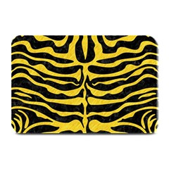 Skin2 Black Marble & Yellow Colored Pencil (r) Plate Mats