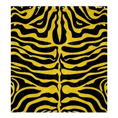 Skin2 Black Marble & Yellow Colored Pencil (r) Shower Curtain 66  X 72  (large)