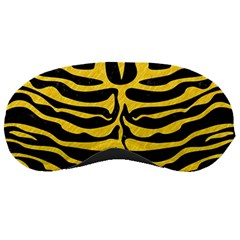 Skin2 Black Marble & Yellow Colored Pencil (r) Sleeping Masks