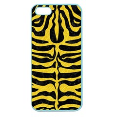 Skin2 Black Marble & Yellow Colored Pencil (r) Apple Seamless Iphone 5 Case (color)