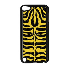 Skin2 Black Marble & Yellow Colored Pencil (r) Apple Ipod Touch 5 Case (black)