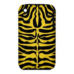 Skin2 Black Marble & Yellow Colored Pencil (r) Iphone 3s/3gs
