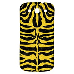 Skin2 Black Marble & Yellow Colored Pencil (r) Samsung Galaxy S3 S Iii Classic Hardshell Back Case