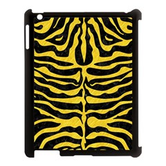 Skin2 Black Marble & Yellow Colored Pencil (r) Apple Ipad 3/4 Case (black)