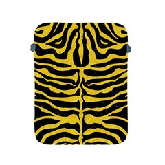 Skin2 Black Marble & Yellow Colored Pencil (r) Apple Ipad 2/3/4 Protective Soft Cases