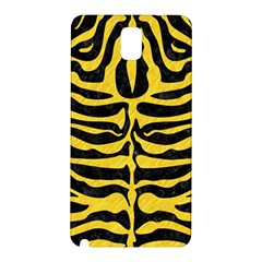 Skin2 Black Marble & Yellow Colored Pencil (r) Samsung Galaxy Note 3 N9005 Hardshell Back Case