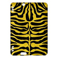 Skin2 Black Marble & Yellow Colored Pencil (r) Kindle Fire Hdx Hardshell Case