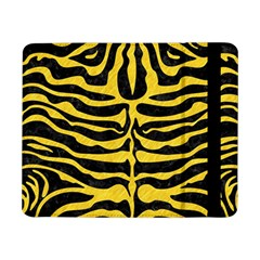 Skin2 Black Marble & Yellow Colored Pencil (r) Samsung Galaxy Tab Pro 8 4  Flip Case