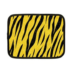 Skin3 Black Marble & Yellow Colored Pencil Netbook Case (small)
