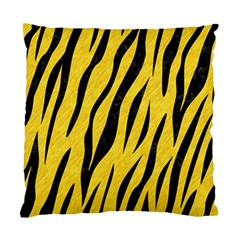 Skin3 Black Marble & Yellow Colored Pencil Standard Cushion Case (one Side)