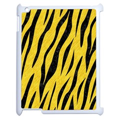 Skin3 Black Marble & Yellow Colored Pencil Apple Ipad 2 Case (white)