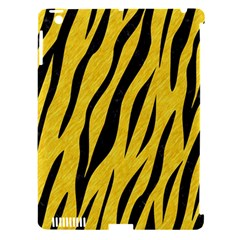 Skin3 Black Marble & Yellow Colored Pencil Apple Ipad 3/4 Hardshell Case (compatible With Smart Cover)