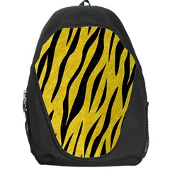 Skin3 Black Marble & Yellow Colored Pencil Backpack Bag