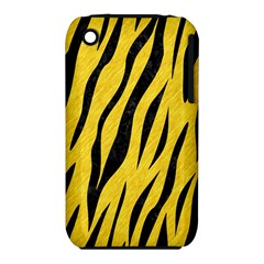 Skin3 Black Marble & Yellow Colored Pencil Iphone 3s/3gs