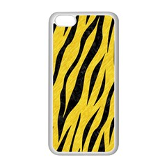 Skin3 Black Marble & Yellow Colored Pencil Apple Iphone 5c Seamless Case (white)