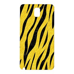 Skin3 Black Marble & Yellow Colored Pencil Samsung Galaxy Note 3 N9005 Hardshell Back Case