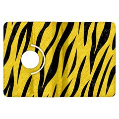 Skin3 Black Marble & Yellow Colored Pencil Kindle Fire Hdx Flip 360 Case
