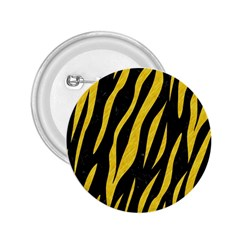 Skin3 Black Marble & Yellow Colored Pencil (r) 2 25  Buttons