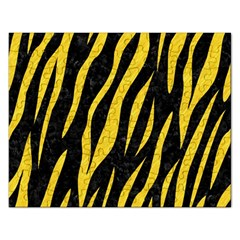 Skin3 Black Marble & Yellow Colored Pencil (r) Rectangular Jigsaw Puzzl