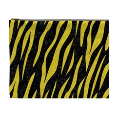 Skin3 Black Marble & Yellow Colored Pencil (r) Cosmetic Bag (xl)