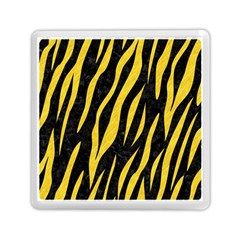 Skin3 Black Marble & Yellow Colored Pencil (r) Memory Card Reader (square)