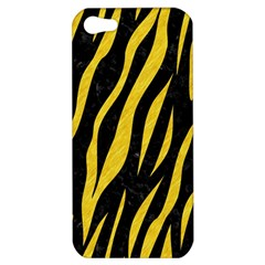 Skin3 Black Marble & Yellow Colored Pencil (r) Apple Iphone 5 Hardshell Case