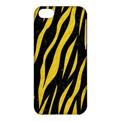 Skin3 Black Marble & Yellow Colored Pencil (r) Apple Iphone 5c Hardshell Case