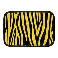 Skin4 Black Marble & Yellow Colored Pencil Netbook Case (medium)