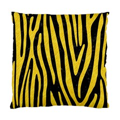 Skin4 Black Marble & Yellow Colored Pencil Standard Cushion Case (two Sides)
