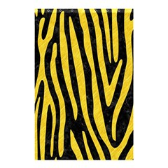 Skin4 Black Marble & Yellow Colored Pencil Shower Curtain 48  X 72  (small)