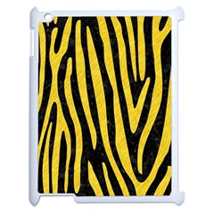 Skin4 Black Marble & Yellow Colored Pencil Apple Ipad 2 Case (white)