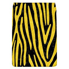 Skin4 Black Marble & Yellow Colored Pencil Flap Covers (l)