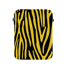Skin4 Black Marble & Yellow Colored Pencil Apple Ipad 2/3/4 Protective Soft Cases